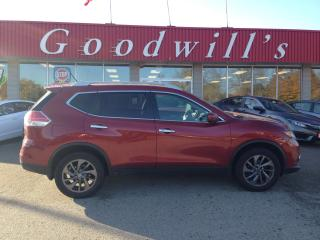 Used 2016 Nissan Rogue SL! HEATED LEATHER! NAV! REMOTE START! SUNROOF! for sale in Aylmer, ON