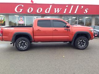 Used 2017 Toyota Tacoma TRD OFF ROAD! CLEAN CARFAX! CAM! BT! for sale in Aylmer, ON