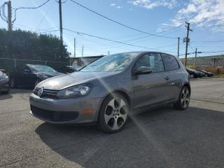 Used 2010 Volkswagen Golf TRENDLINE for sale in St-Eustache, QC