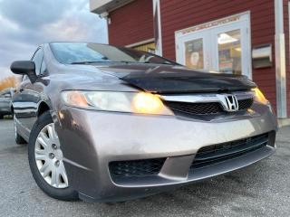 Used 2009 Honda Civic 4 portes, boîte manuelle, DX for sale in Drummondville, QC