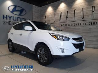 Used 2014 Hyundai Tucson GLS AWD 2.4 TOIT PANO CAMERA+BANCS CHAUF for sale in Sherbrooke, QC