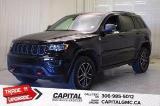 Used 2018 Jeep Grand Cherokee Trailhawk*LEATHER*SUNROOF*NAV* for sale in Regina, SK