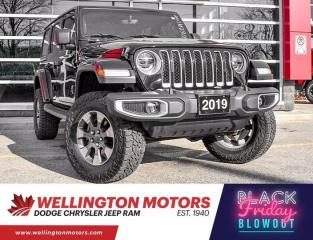 Used 2019 Jeep Wrangler Unlimited Sahara / Cold Weather Group / 4x4 !! for sale in Guelph, ON
