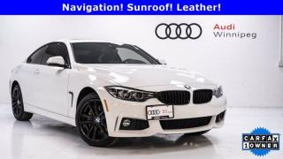 Used 2020 BMW 4 Series 430i xDrive w/M Sport Package for sale in Winnipeg, MB