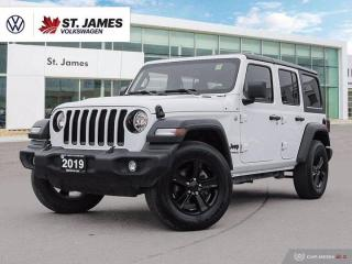Used 2019 Jeep Wrangler UNLIMITED SPORT for sale in Winnipeg, MB