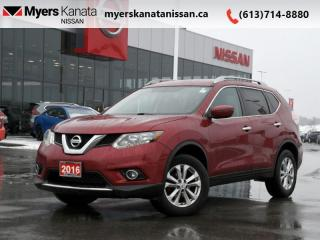 Used 2016 Nissan Rogue SV  - Bluetooth -  Heated Seats for sale in Kanata, ON