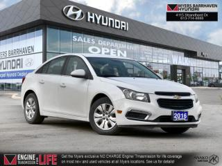 Used 2016 Chevrolet Cruze Limited LT  -  Bluetooth - $91 B/W for sale in Nepean, ON