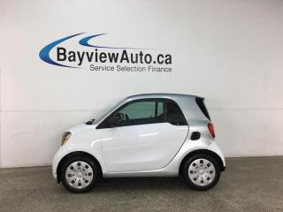 Used 2016 Smart fortwo Pure - AUTO! NAV! PWR GROUP! for sale in Belleville, ON