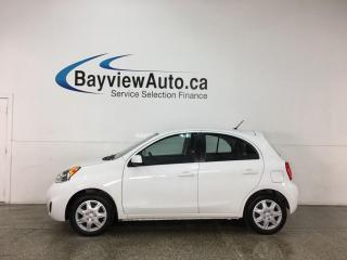 Used 2017 Nissan Micra S - AUTO! PWR GROUP! A/C! for sale in Belleville, ON