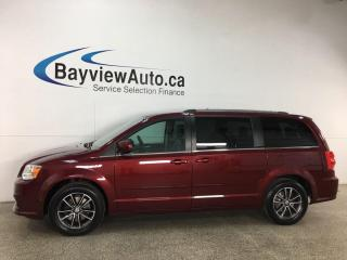 Used 2017 Dodge Grand Caravan CVP/SXT - NAV! DVD! PWR DOORS! PWR LIFTGATE! + MORE! for sale in Belleville, ON