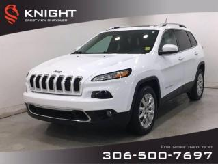 Used 2017 Jeep Cherokee Limited 4x4 | Leather | Sunroof | for sale in Regina, SK