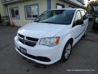 Used 2016 Dodge Grand Caravan FAMILY MOVING SE MODEL 7 PASSENGER 3.6L - V6.. ECON-BOOST PACKAGE.. MIDDLE BENCH.. REAR STOW-N-GO.. CD/AUX INPUT.. KEYLESS ENTRY.. for sale in Bradford, ON