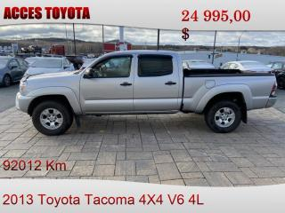 Used 2013 Toyota Tacoma Double Cab V6 for sale in Rouyn-Noranda, QC