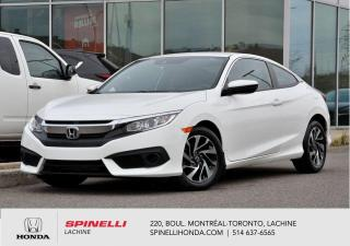 Used 2017 Honda Civic LX AUTO MAGS BAS KM AUT MAGS BLUETOOTH CAM RECUL HONDA SENSING++ for sale in Lachine, QC