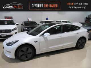 Used 2020 Tesla Model 3 Standard Range STANDARD RANGE PLUS| PEARL WHITE for sale in Vaughan, ON