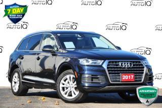 Used 2017 Audi Q7 3.0T Progressiv 3.0T PROGRESSIV | PANORAMIC ROOF | 3RD ROW for sale in Kitchener, ON