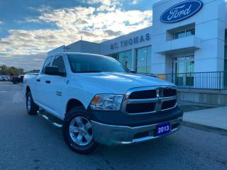Used 2013 RAM 1500 ST 4x4, 17 Wheels, 17 Wheels, Bluetooth ST 4x4, 17 for sale in St Thomas, ON