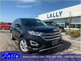 Used 2016 Ford Edge SEL, Leather, Moonroof, Navigation!! for sale in Tilbury, ON