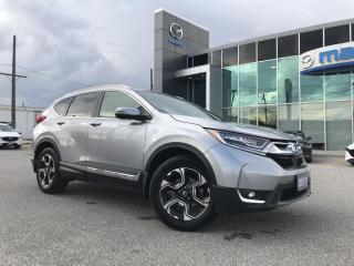 Used 2017 Honda CR-V Touring AWD with Navigation for sale in Chatham, ON