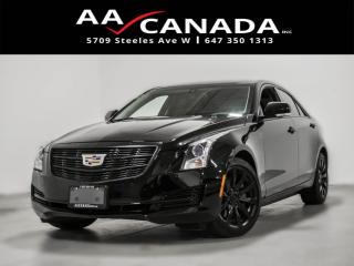 Used 2018 Cadillac ATS Luxury AWD for sale in North York, ON