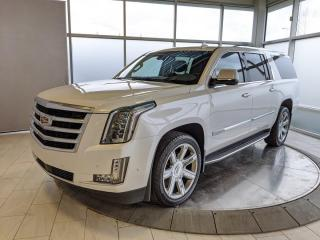 Used 2018 Cadillac Escalade ESV ONE OWNER - NO ACCIDENTS! for sale in Edmonton, AB