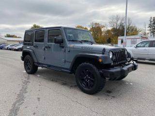 Used 2015 Jeep Wrangler Unlimited Willys 4dr 4WD Sport Utility for sale in Brantford, ON