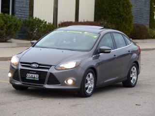 Used 2012 Ford Focus NAVIGATION,TITANIUM,LEATHER,CERTIFIED,NO-ACCIDENTS for sale in Mississauga, ON