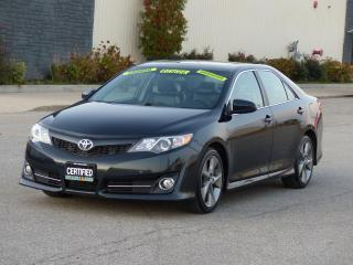 Used 2012 Toyota Camry SPORT,LEATHER,NAVIGATION,SUNROOF,CERTIFIED,LOADED for sale in Mississauga, ON