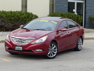 Used 2011 Hyundai Sonata 2.0T,LIMITED,LEATHER,NAVIGATION,CAMERA,CERTIFED for sale in Mississauga, ON