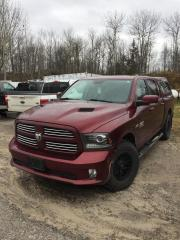 Used 2017 RAM 1500 SPORT for sale in North Bay, ON