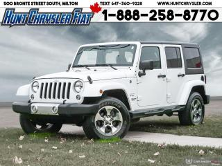 Used 2017 Jeep Wrangler Unlimited SAHARA | NAV | RMT STRT | AUTO & MORE!!! for sale in Milton, ON
