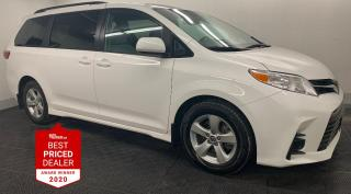 Used 2019 Toyota Sienna LE *PWR SLIDING DOORS - CARPLAY - REAR CAMERA* for sale in Winnipeg, MB