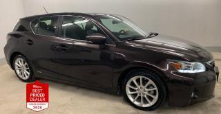 Used 2012 Lexus CT 200h FWD HYBRID *HEATED LEATHER - SUNROOF* for sale in Winnipeg, MB