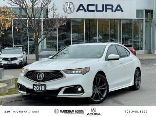 Used 2018 Acura TLX 3.5L SH-AWD w/Tech Pkg A-Spec for sale in Markham, ON