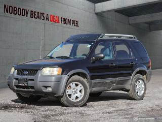 Used 2003 Ford Escape 4dr XLT 4WD for sale in Mississauga, ON