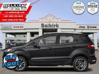 Used 2018 Ford EcoSport SE FWD - Bluetooth for sale in Selkirk, MB