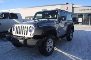 Used 2014 Jeep Wrangler SPORT for sale in Swift Current, SK