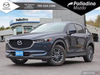 Used 2017 Mazda CX-5 GS - LOW MILEAGE - DEALER SERVICED for sale in Sudbury, ON