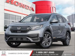 New 2020 Honda CR-V Touring HONDA SENSING TECHNOLOGIES | APPLE CARPLAY™ & ANDROID AUTO™ | REMOTE ENGINE STARTER for sale in Cambridge, ON