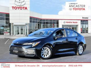 Used 2020 Toyota Corolla SE manual transmission for sale in Ancaster, ON