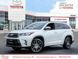 Used 2017 Toyota Highlander SE package XLE for sale in Ancaster, ON