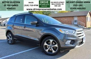 Used 2017 Ford Escape SE 4x4 Heated Leather MoonRoof CarPlay Backup Cam for sale in Belle River, ON