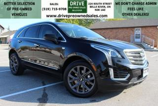 Used 2018 Cadillac XT5 Luxury AWD Heated Leather MoonRoof CarPlay OnStar Backup Cam for sale in Belle River, ON