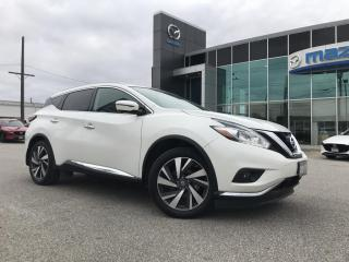 Used 2017 Nissan Murano Platinum JUST ARRIVED for sale in Chatham, ON