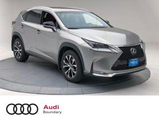 Used 2017 Lexus NX 200t 6A for sale in Burnaby, BC