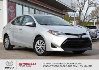 Used 2019 Toyota Corolla LE for sale in Pointe-Claire, QC