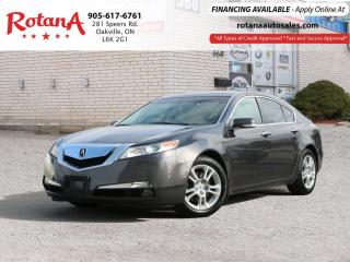 Used 2009 Acura TL w/Tech Pkg_Navi_Rear Cam_Bluetooth for sale in Oakville, ON