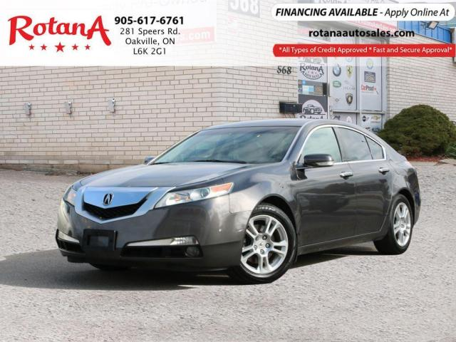 2009 Acura TL w/Tech Pkg_Navi_Rear Cam_Bluetooth
