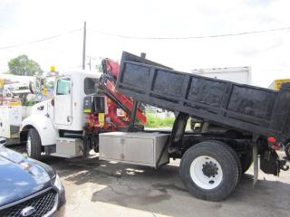 Used 2010 PETERBILT 335 dump and crane for sale in North York, ON
