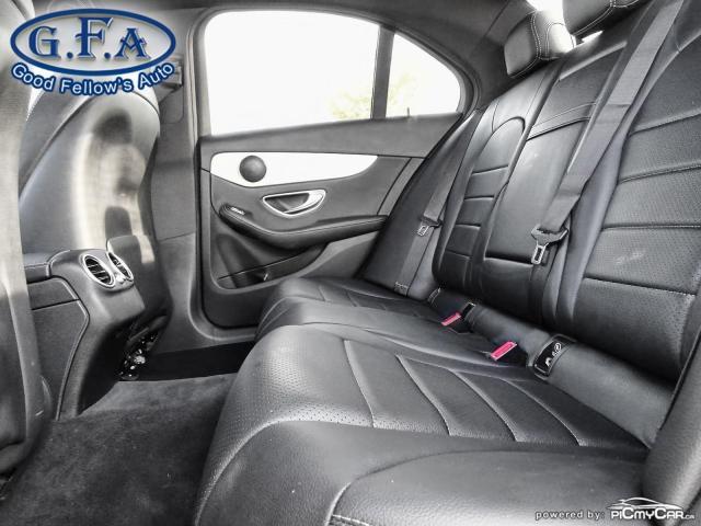 2017 Mercedes-Benz C300 4MATIC, SPORT PKG, MEMORY PKG, SPORT SUSPENSION